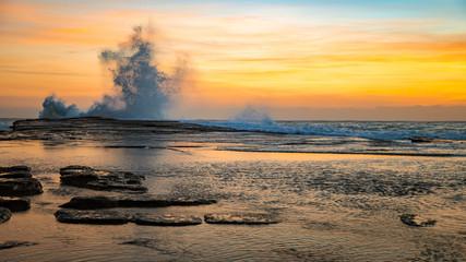 Sunrise Seascape Splash