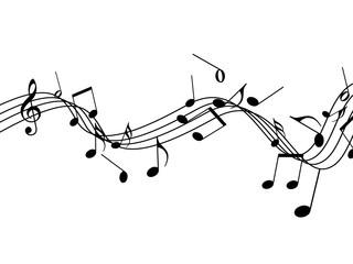 音楽 譜面 ト音記号 ミュージック 演奏 五線譜  音符