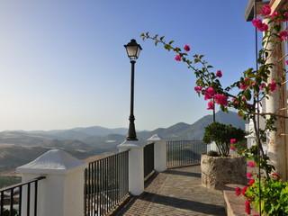Zahara de la Sierra, pueblo  de Cádiz, Andalucía (España) situado en el centro del Parque natural Sierra de Grazalema
