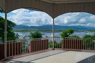 Beautiful nature in Loktak lake, Manipur, India
