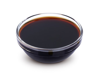 Soy sauce isolated on white background