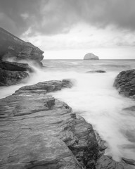 Fototapete - Trebarwith strand