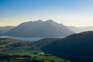 Mountains and Valleys of New Zealand