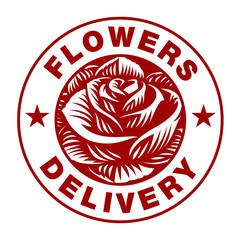 Rose logo (on white background))