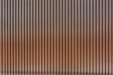 Background structure - Metal wall in red and brown colors.