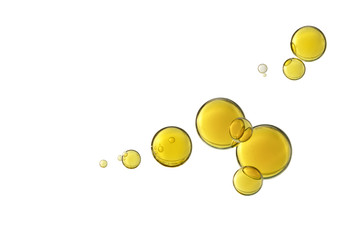 Olive oil bubbles