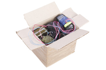 IED - Mailbomb (Improvised Explosive Device in mailbox)