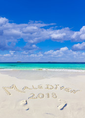 Malediven Strandtext 2018