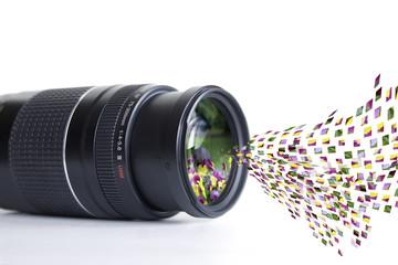 Objektiv Pixelsauger