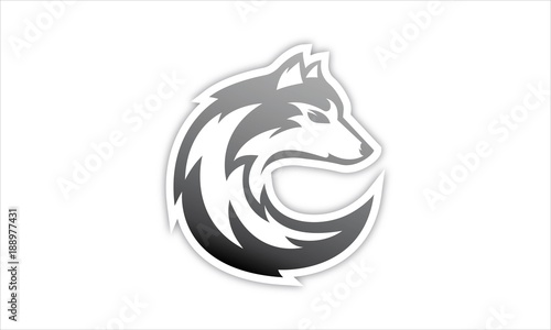 wolves logo stock image and royalty free vector files on fotolia