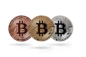 Bitcoins, three bit coins