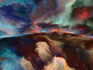 Advance of Abstract Landscape