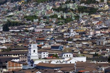Cityscape, Quito