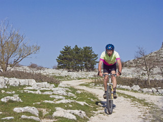 Mountainbiken in Kroatien