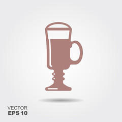 Irish Coffee cocktail icon