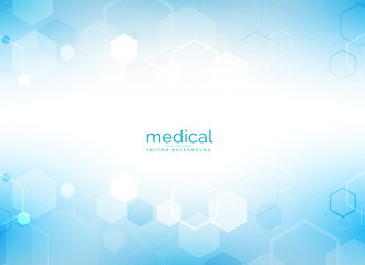 healthcare and medical background with hexagonal geometric shapes