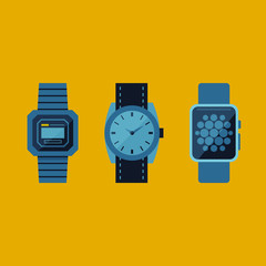 Different Styles of Wrist Watches