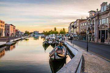 Canal de Aveiro (Portugal) Fototapete