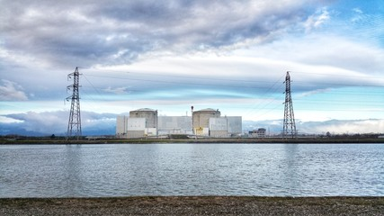 Nuclear Power Plant Fessenheim France