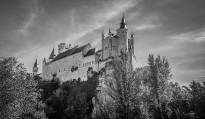 Keuken foto achterwand Kasteel Segovia