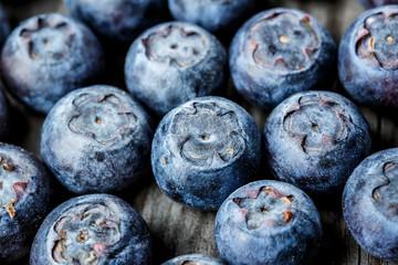 Blueberries background