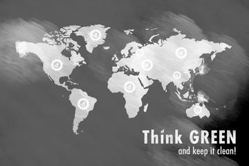 Slogan Go GREEN!