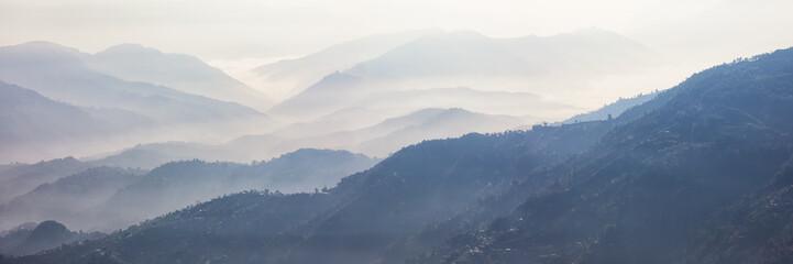 Foggy Landscape, Nagarkot, Nepal