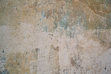 Wall Murals Old dirty textured wall the texture of the old brown wall