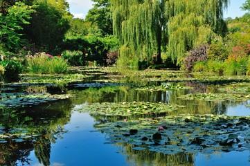 Giardini di casa Monet a Giverny, Normandia