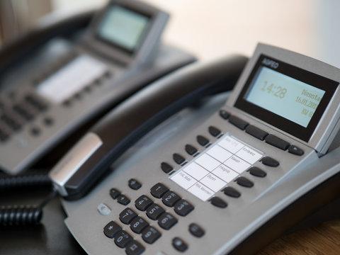 Moderne Business Telefone - Telefonanlage - Telefonie