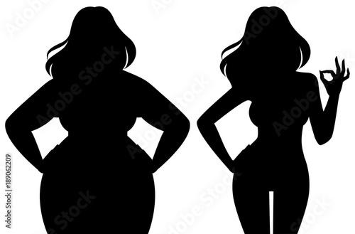 woman Sexy clip art fat