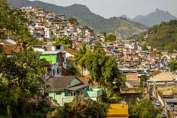 Fotomurales - Favela in Rio de Janeiro, Brazil