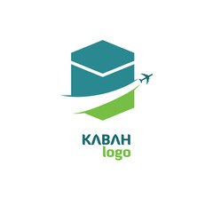 KABAH HAJJ TOUR AND TRAVEL VECTOR LOGO