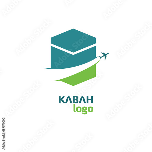 Kabah Hajj Tour And Travel Vector Logo Stock Image And Royalty Free