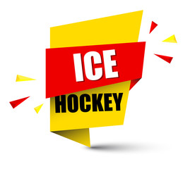 banner ice hockey
