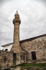 Historical Adatepe Village mosque in Kucukkuyu, Canakkale