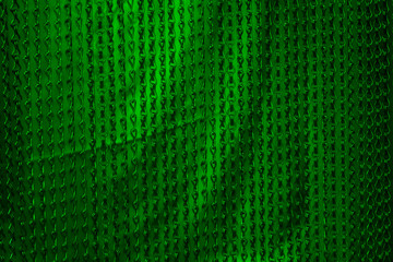 green chains background
