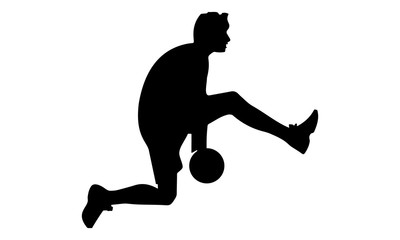 style players with ball below