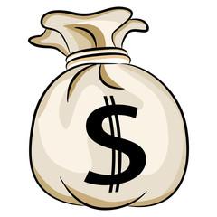 Bag of Bank Money US Cash