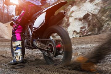 motocross, motorcycle starts, mud large pllan