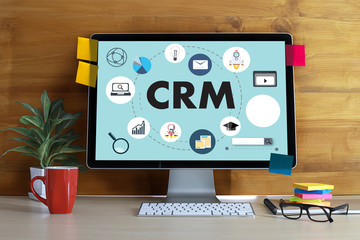 Business Customer CRM Management Analysis Service Concept management