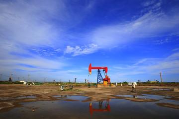 The oil pump, industrial equipment