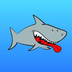Dibujo de Tiburón