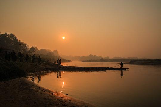 Chitwan sunrise