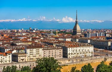 Panorama of Turin skyline