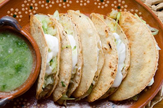 """Mexican tacos """"dorados"""""""