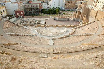 Roman Theatre - Cartagena - Spain