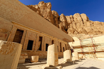 Hatchepsut Queen temple in Luxor, Egypt