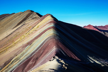 Poster Rainbow mountain