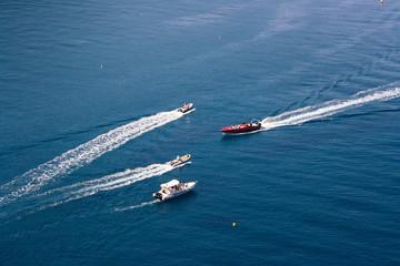 crossing boats